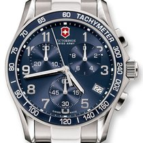 Victorinox Swiss Army Classic Chronograph Steel Mens Watch...