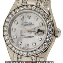 Rolex Datejust Lady Pearlmaster 18k White Gold Diamonds Ref....
