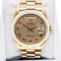 Rolex Day-Date Presidential 18038 Single Quickset Roman...
