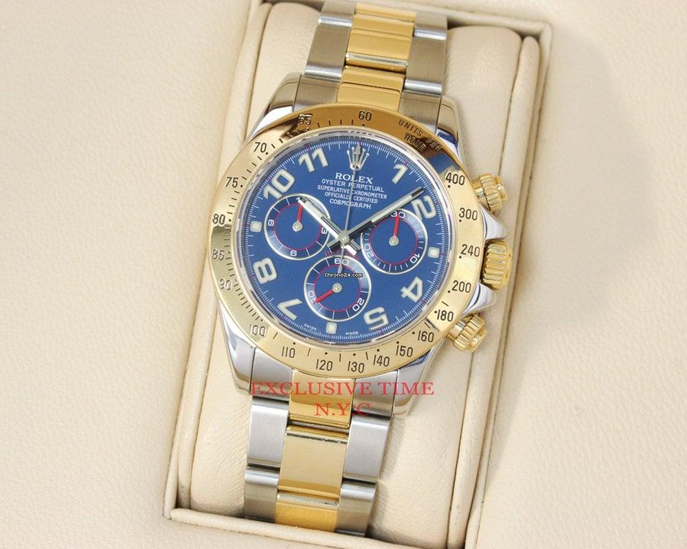 Rolex Daytona Gold Blue