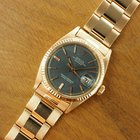 Rolex Datejust 18K rose gold Grey dial