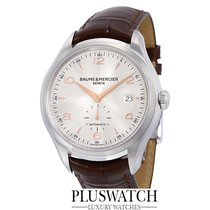 Baume & Mercier Clifton Automatic Silver Dial Brown...
