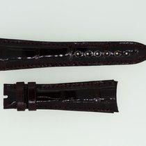 Audemars Piguet Lederband / Alligator / Bordeaux - 22/16 Länge...
