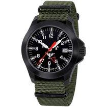 KHS Uhren Herrenuhr  Black Platoon GMT LDR KHS.BPGLDR.NO