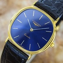 Longines Mid Size Luxurious Quartz Swiss Made Gold Plated...