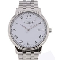 Montblanc Tradition 40 Date White Dial