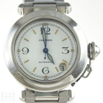 Cartier Uhr Pasha Automatik Edelstahl 35 mm Ref. 1031