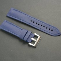 Blancpain Fifthy Fathoms SailCloth Fabric Strap Blue and Steel...