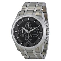 Tissot Couturier Black Dial Stainless Steel Mens Watch...
