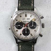 Wakmann Vintage Chronograph Triple-Date Gigandet Valjoux 72C