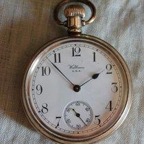 "Waltham Beautiful WALTHAM USA"" golden pocket watch, early..."