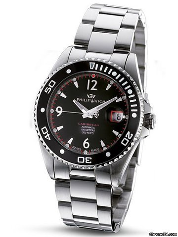 Philip Watch Caribbean Herrenuhr Automatik R8223107125