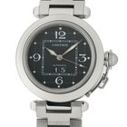 Cartier Pasha Collection Pasha C Stainless Steel 35mm Black...