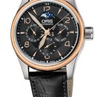 Oris Big Crown Complication, Day, Moon Phase, Black Dial Lth