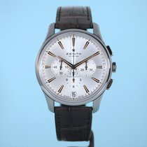 Zenith El Primero Chronograph Lederband Kroko -NEU-
