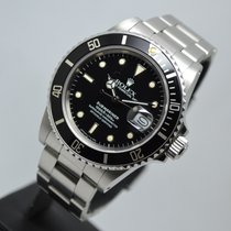 Rolex Submariner Date Rare Transitional 168000 with warranty
