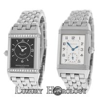 Jaeger-LeCoultre Mint Ladies Reverso 256375 Duetto Solid 18K...