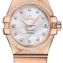 Omega Constellation Co-Axial Automatic 35mm 123.55.35.20.52.001