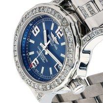 Breitling Womens Diamond Breitling Colt 33mm Blue Dial...