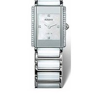 Rado INTEGRAL L-s Watch R20430902 White Ceramic / Steel,...