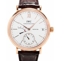 IWC Schaffhausen IW510107 Portofino Hand-Wound Eight Days...