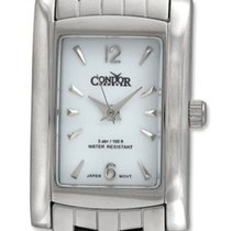 Condor Classic Stainless Steel Womens Watch White Dial CWS111