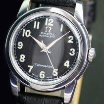 歐米茄 (Omega) Seamaster Automatic Steel Unisex Wrist Watch Black...