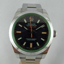 Rolex Milgauss  vetro verde ,green glass