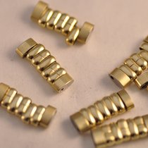 Omega 1036 Link Beads Of Rice Bracelet New Old Stock Gold Plated