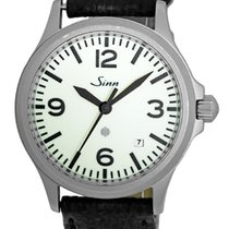 """Sinn """"Pilot"""" with Magnetic Field Protection Strapwatch."""