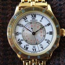 Longines Lindbergh, Gold, Ref. 989.5216
