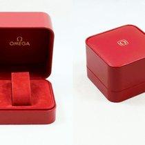 Omega Uhrenbox mit Umkarton und Zubehör