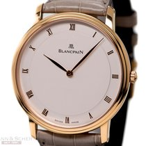 Blancpain Villeret 18k Rose Gold Ref-4053 3642 55 40mm Case...