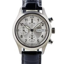 IWC Flieger Chronograph Spitfire In Acciaio Ref. Iw3717