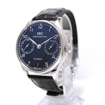 IWC Portuguese Automatic 7-days steel, black dial