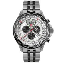 Swiss Military Watch Hurricane Worldtimer Chronograph 2475