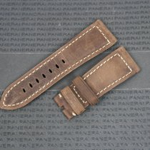 Panerai OEM 26/22 Assolutamente Leather Strap Brown Radiomir
