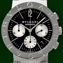 Bulgari Bvlgari Automatic Chrono Sigma Dial 18k White Gold Index