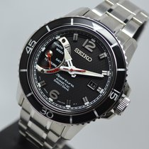 Seiko Sportura Kinetic Direct Drive SRG019P1 5D22 OPEN DATE