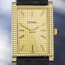 Cyma Rare Luxury Gold Plated Manual Wind Dress Watch 1970s...