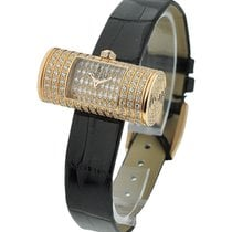 Corum Golden Tube with Pave Diamond Case and Dial