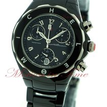 Michele Tahitian, Black Dial - Black Ceramic on Bracelet
