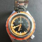 Zenith defy 600mt diver vintage double orange rare
