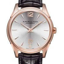 Hamilton Jazzmaster Slim Automatikuhr Rosé H38645755