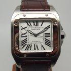Cartier Santos 100 Medium Size Steel & Rose Gold