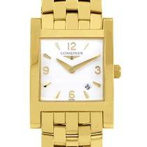 Longines Ladies 18K Yellow Gold Quartz Watch L55036166