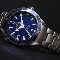 Omega [NEW] Seamaster Planet Ocean Titanium 600 M Co-Axial 42mm