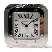 Cartier Table Clock Santos Serial