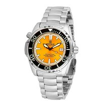 Deep Blue Sea Quest Yellow Dial Automatic Men's Watch
