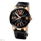 Ulysse Nardin Executive Dual Time 18K Rose Gold Men's Watch